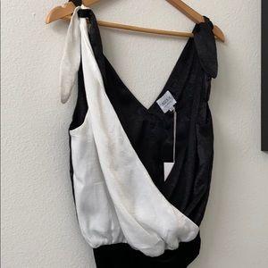 🖤 Misa black & white bodysuit 🖤